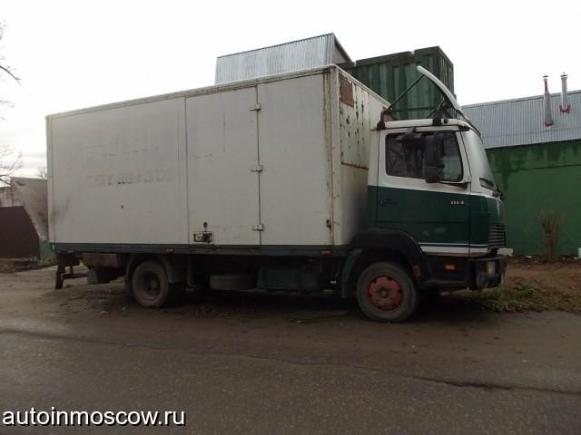 Продам грузовик Мерседес 814D, 1998 г. в местонахождение московская область.  Барыбино.